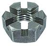 Гайка корончатая М27 нержавеющая DIN935, сталь А2, А4, фото 2