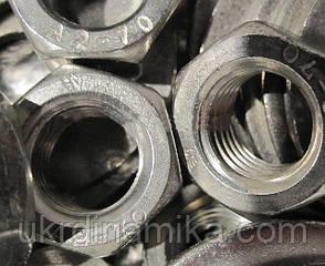 Гайка М125 высокого класса прочности 10.0, ГОСТ 10605-94:, фото 2
