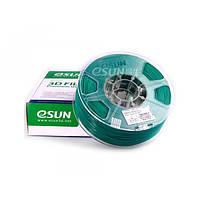 Пластик для 3D печати  eSUN  ABS, 1.75 мм, 1 кг, зелёный
