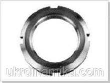 Гайка М18 ГОСТ 11871-88 круглая шлицевая, фото 2
