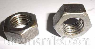 Гайка М33 высокопрочная 10.0 ГОСТ 5915-70, DIN934, фото 2