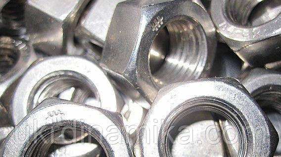 Гайка М45 клас міцності 5.0 DIN 934