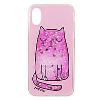 Накладка Stardust for iPhone 6/6S Plus Pink Cat
