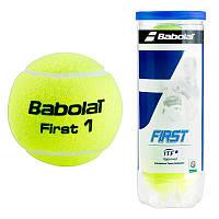 Мяч теннисный в упаковке Babolat First х 3