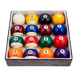 Цветные шары для бильярда D=68мм