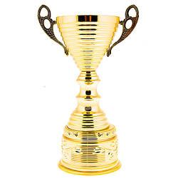Кубок с золотым напылением h=24см