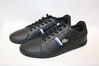 Кеды мужские Lacoste цвет черный размер 46 арт 7-30SPM000802H, фото 1