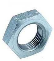 Гайка нержавеющая М14 DIN 985 низкая самоконтрящаяся с нейлоновым кольцом, фото 2