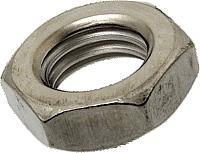 Гайка нержавеющая М14 DIN 985 низкая самоконтрящаяся с нейлоновым кольцом, фото 3