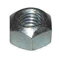 Гайка нержавеющая М16 DIN 985 низкая самоконтрящаяся с нейлоновым кольцом