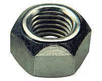Гайка нержавеющая М16 DIN 985 низкая самоконтрящаяся с нейлоновым кольцом, фото 3