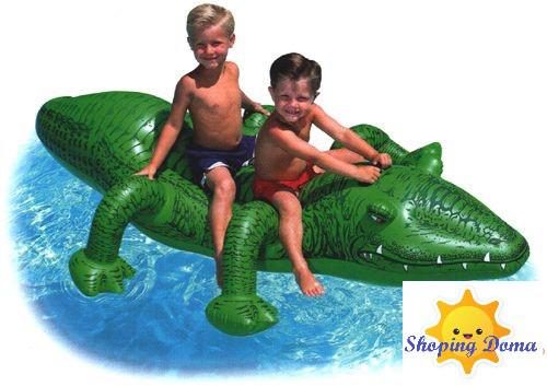 Детские надувные круги, плотики, матрасы для плавания