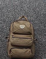 Мужской брезентовый городской повседневный рюкзак Gold Be / GoldBe
