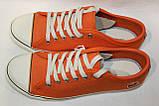 Кеды женские Lacoste цвет оранжевый размер 37 40 арт 7-27SRW1237099, фото 2