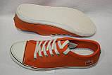 Кеды женские Lacoste цвет оранжевый размер 37 40 арт 7-27SRW1237099, фото 4
