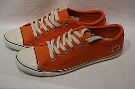 Кеды женские Lacoste цвет оранжевый размер 37 арт 7-27SRW1237099