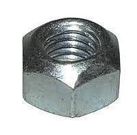 Гайка нержавіюча М5 DIN 985 низька самоконтрящаяся з нейлоновим кільцем, фото 2