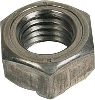 Гайка нержавеющая М6 DIN929 приварная шестигранная, сталь А2, А4, фото 2