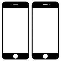 Оригинальное стекло дисплея iPhone 6 черное