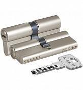 Сердцевина замка двери KALE 164 BNE 30+10+50: 90 mm никель 5 ключей