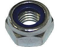 Гайка шестигранная М12 самоконтрящаяся низкая, с нейлоновым вкладышем DIN 985, сталь А2, А4, фото 2