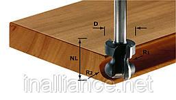 Фреза для профилирования пазов под ручки HW с хвостовиком 8 мм HW S8 D22/16/R2,5+6, Festool 491140