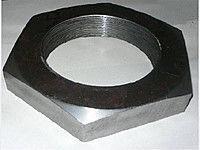 Гайка шестигранная М8 нержавеющая самоконтрящаяся, DIN 982, сталь А2, А4