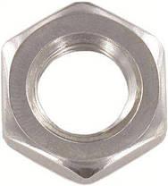 Гайка шестигранная нержавеющая низкая М22 DIN 439, сталь А2, фото 3