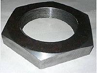 Гайка шестигранная нержавеющая низкая М27 DIN 439, сталь А2, фото 3