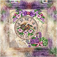 Схема для вышивки бисером Часы