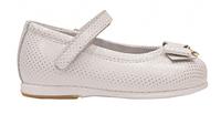 Туфли для девочки Choupette 1401, золотисто-белые