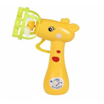 Мыльные пузыри Same Toy Bubble Gun Жираф желтый                                              , фото 2