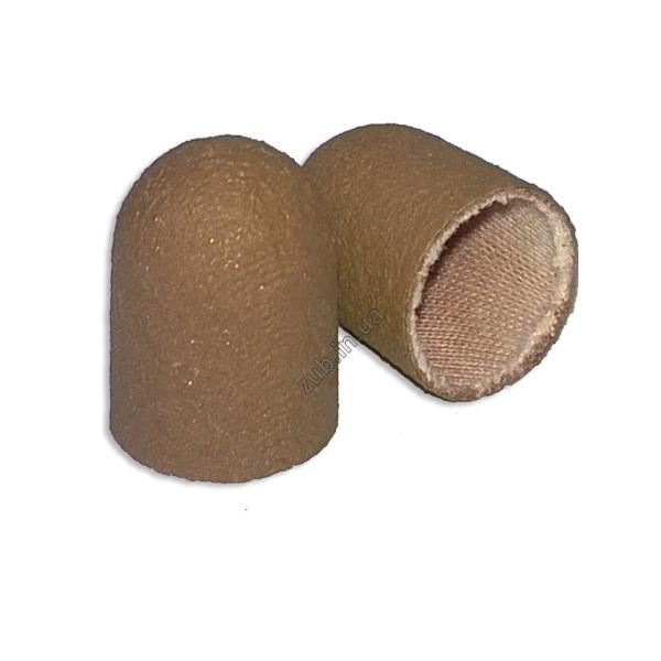 Колпачок песочный коричневый мелкий 16 мм.