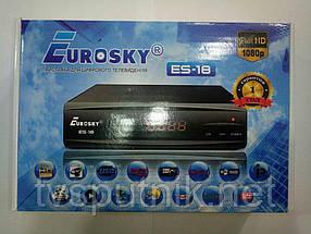Ефірний тюнер Eurosky ES-18 (DVB-T2+IPTV +Youtube)