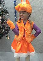 Новогодний карнавальный костюм белочки