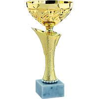 Кубок с золотым напылением h=27см, Италия