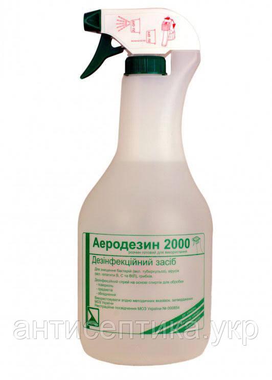 Аеродезин 2000 с распылителем 1л. быстрая дезинфекция