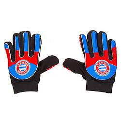 Детские вратарские перчатки размер 7, PVC, полиэстр