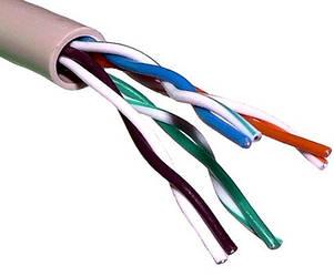Кабель витая пара OK-Net UTP кат.5е КПВ-ВП (350) 4*2*0,51, 305м