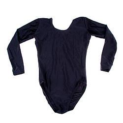 Купальник черный с длинным рукавом размер S