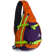 Рюкзак 10 л Onepolar 2006 оранжевый через плечо.