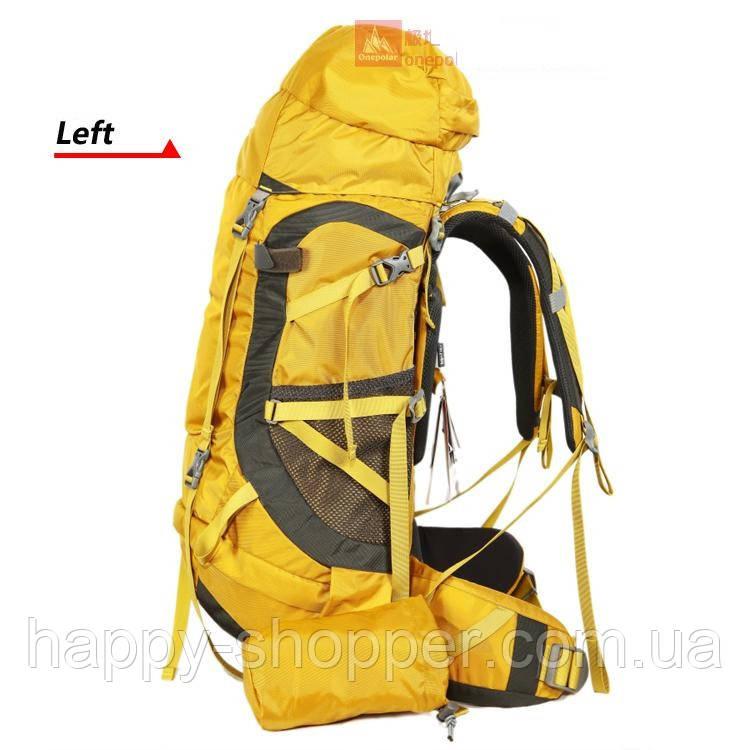 Туристический рюкзак 50 л Onepolar Pistachio 1636  Коричневый
