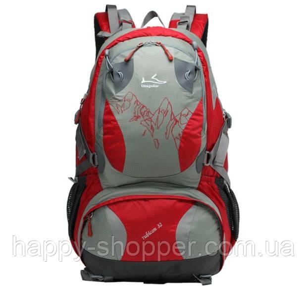 Рюкзак 32 л Onepolar Rubicon 1550 Сетка, Для взрослых, 2, Поясной ремень, Каркасный, Красный