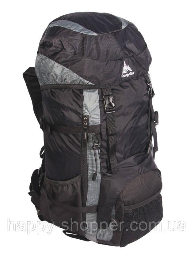 Туристический рюкзак 55 л Onepolar 1208 Серый