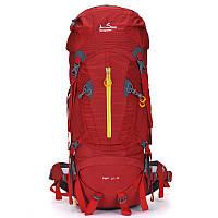 Туристический рюкзак 55-75 л Onepolar Liger 1631 Красный, фото 1