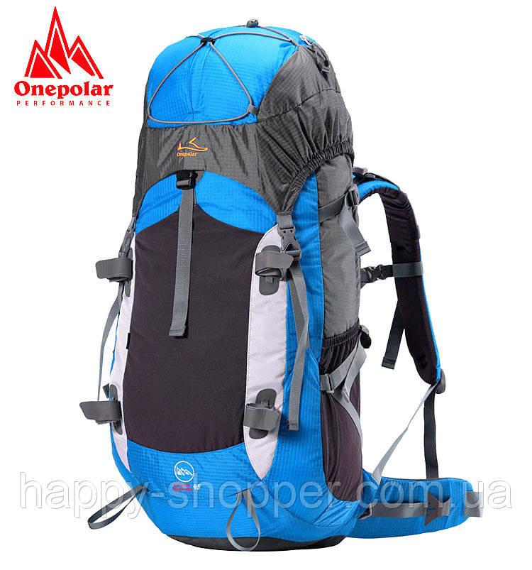 Туристический рюкзак 45 л Onepolar 1702 Голубой