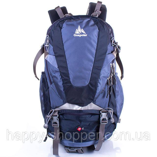 Туристический рюкзак 38 л Onepolar 2177 Синий