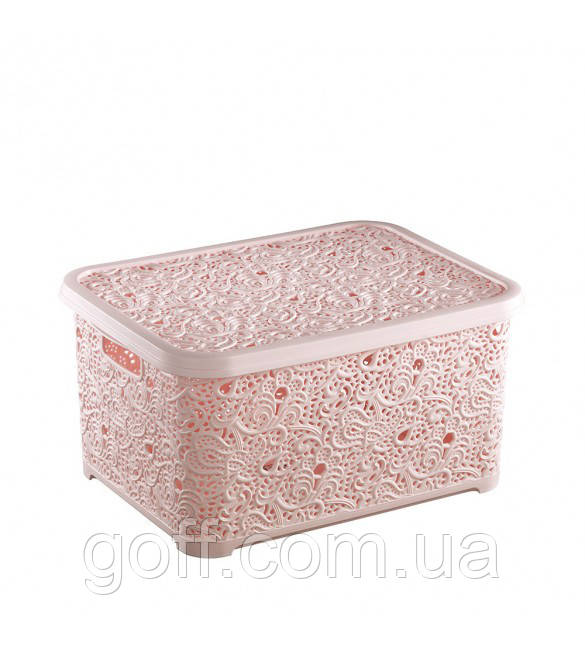 30*21*13см Ящик пластиковый для игрушек