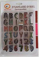 Форма для вырубки букв и цифр В-128 арт. (7-48)