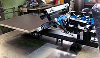 Шелкографический станок 1х1 с микроприводками. Оборудование для шелкографии
